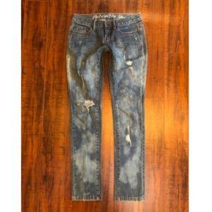 Converse SHERIDAN SKINNY Destroyed Jeans